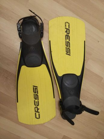 Płetwy do nurkowania Cressi Master-Frog Fins rozm. X-L, buty gratis