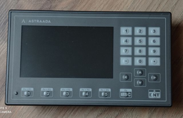 ASTRAADA Hmi Panel, 24VDC, AS40TFT0434