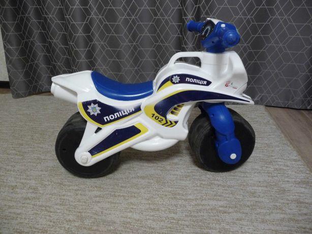 Мотоцикл дитячий поліція