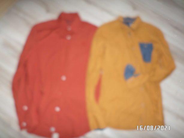 2 firmowe- koszule męskie -rozm-L-Cropp-MEXX
