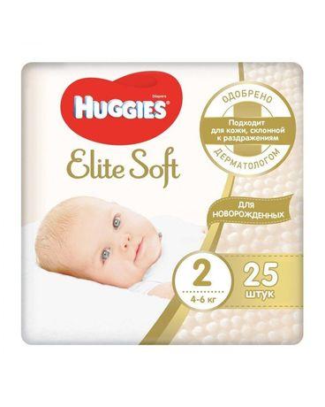 Продам подгузники huggies elite soft 2 и dada extra care3