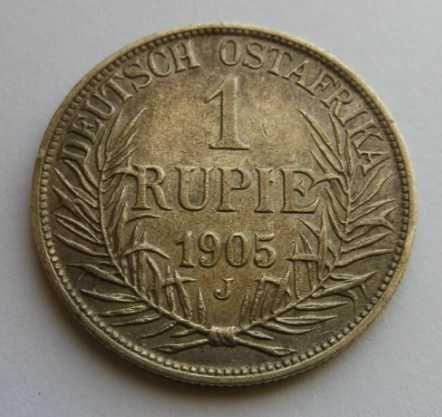 Prusy - DOA Rupia 1905 J
