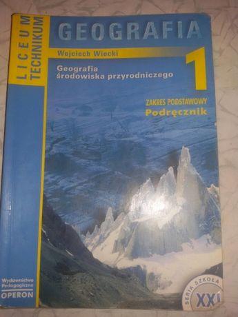 Podręcznik Geografia liceum technikum Wojciech Wiecki