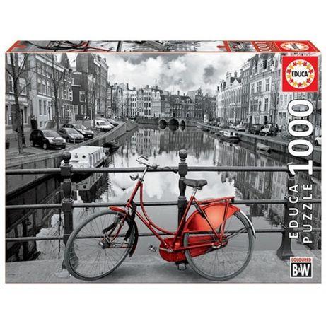 Puzzle Educa 1000 Peças 14846 Bike em Amesterdão - NOVO