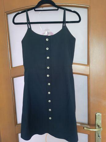 Czarna sukienka missguided 38