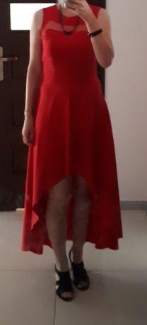 Sukienka 38 M asymetryczna wesele jak nowa