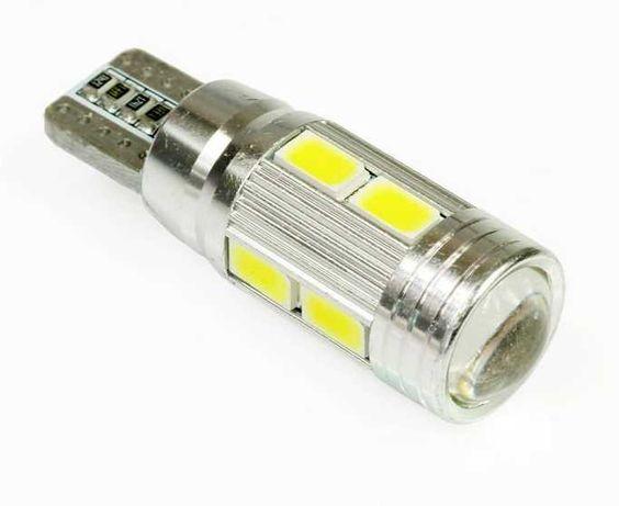 Żarówka samochodowa LED W5W T10