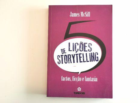 """""""5 lições de Storytelling"""" - Aprender a contar histórias (NOVO)"""