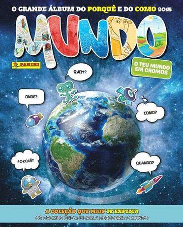 Cromos Caderneta Mundo 2015