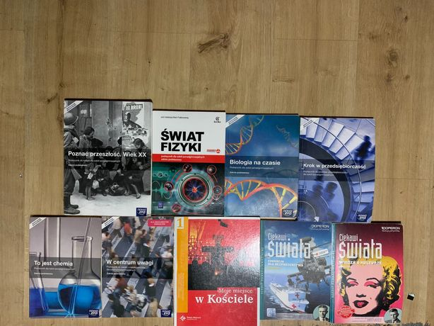 Książki do 1 liceum/technikum/zawodówki