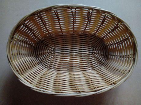 Koszyk wiklinowy koszyczek wiklinowy miska wiklinowa jasna kolekcje
