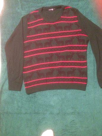 sweter swiateczny XL