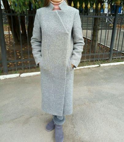 Пальто шерсть осень-зима + варeжки S, M 800грн.