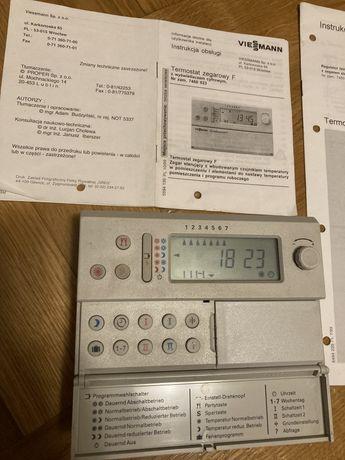 Termostat zegarowy F viessmann używany sprawny