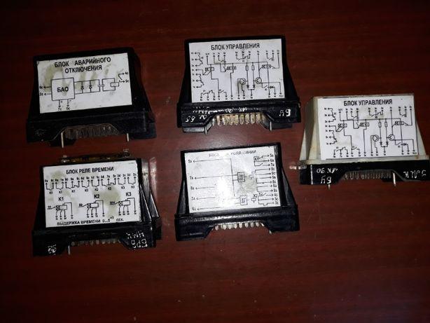 Блоки на аппаратура управления КД-А