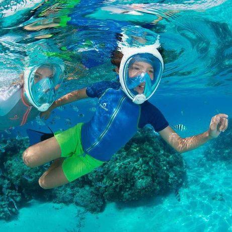 Хит Маска для подводного плаванья Tribord снорклинга ныряния под водой