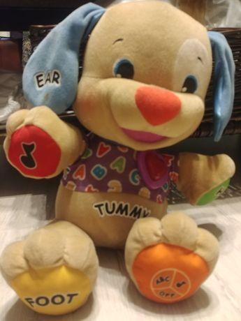 szczeniaczek uczniaczek po angielsku zabawka edukacyjna
