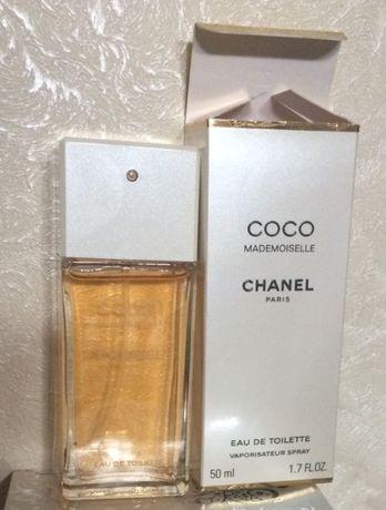 Туалетная вода Chanel Coco Mademoiselle 50ml Франция, оригинал новая