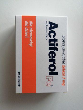 Actiferil FE bioprzyswajalne żelazo 7 mg dla niemowląt dla dzieci