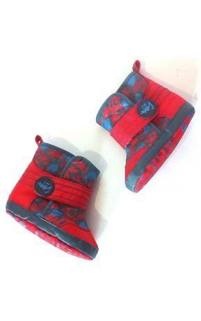 Пинетки ботинки от marks & spencer на возраст 3-6 мес. код w0015