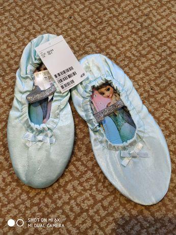 Продам нереально красивые танцевальные балетки для девочки фирмы  HM