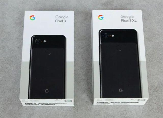 В продаже Pixel 3(64) | pixel 3(128) | pixel 3XL (64)