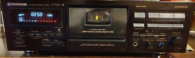 Magnetofon Deck Pioneer CT S 620