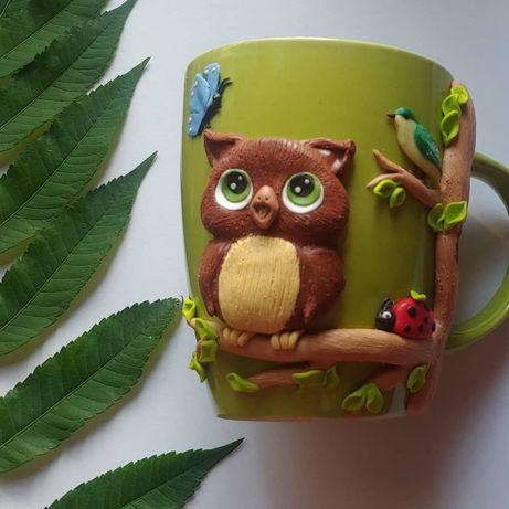 Чашка з оригінальним декором