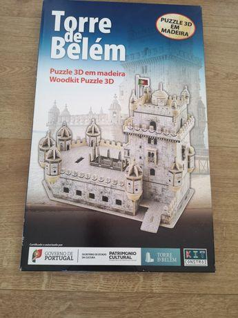 Puzzle 3D torre Belém