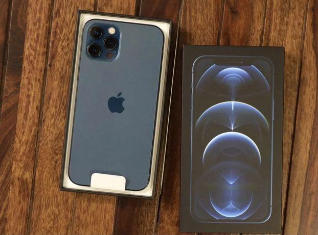 Iphone 12 pro Max azul estado novo Troco por samsung galaxy  z fold 2