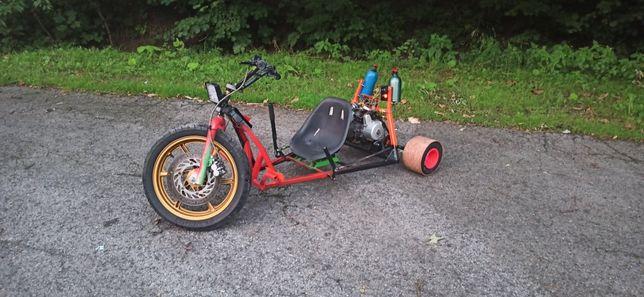 Drift trike 110cm3 3 biegi Trajka