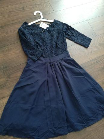Nowa sukienka ORSAY z koronką r. 38