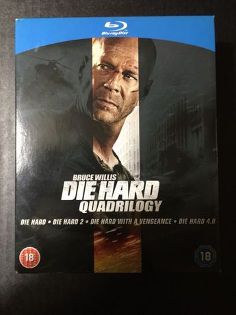 Die Hard Quadrilogy - blu-ray dvd box set