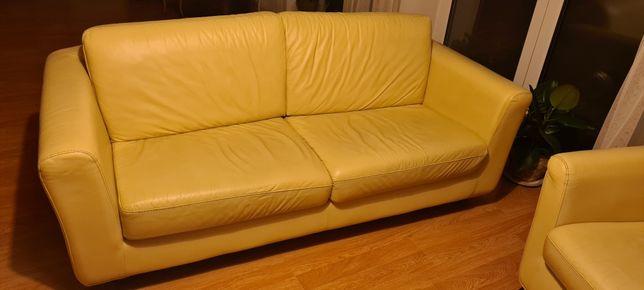 Kanapa i   fotele skórzane