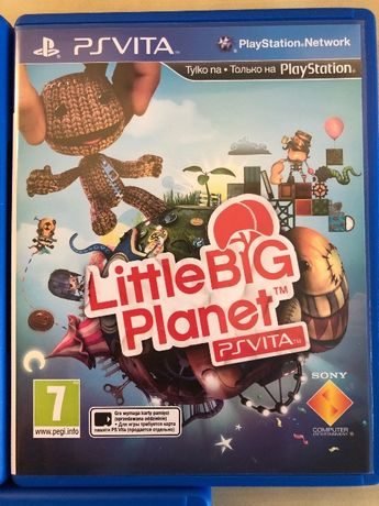 Little Big Planet Gra PSVita i inne gry akcesoria PS Vita.
