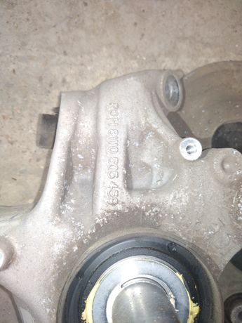 Zwrotnica wachacze Tylne P/L  Audi a4 B9