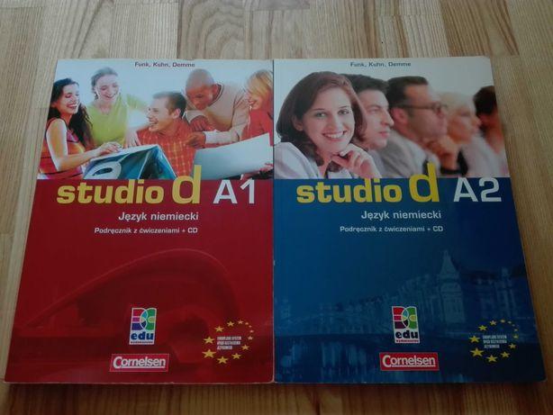 Studio d A1, A2 - podręcznik z ćwiczeniami + CD