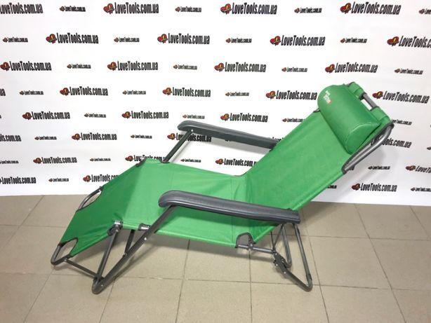 Кресло-шезлонг двух позиционное лежак,раскладушка садове крісло стул