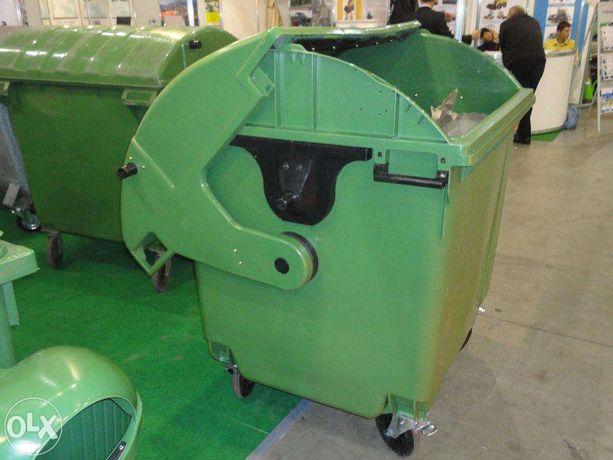 мусорный контейнер ТБО пластик 1100 л. б/у