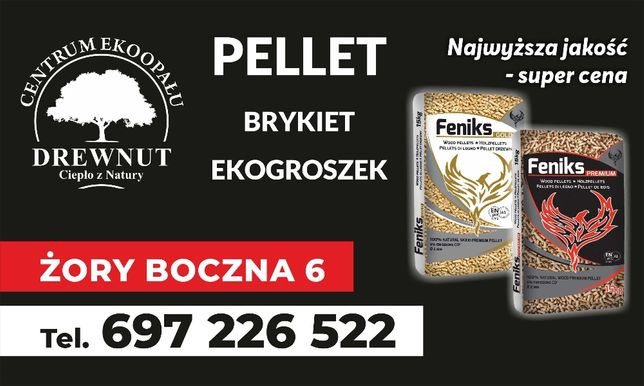 Pellet Feniks Gold, pelet certyfikowany, klasa A1 900 zł