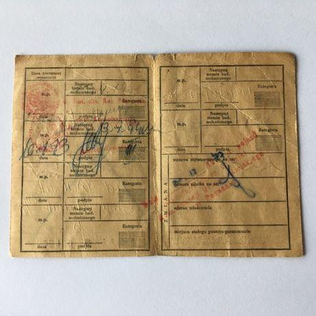 OSA M52 dokument kolekcjonerski