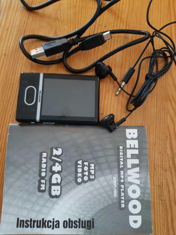 Bellwood odtwarzacz MP3/ FOTO/ VIDEO/ 4GB