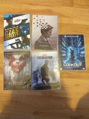 Filmy na dvd pionek, czas zapłaty I inne 5 szt.