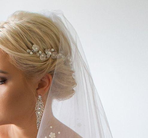 Ozdoba ślubna do włosów