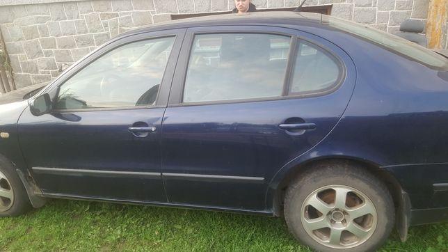 Seat leon 1 toledo 2 drzwi tylne przednie lewe lb5n kompletne !