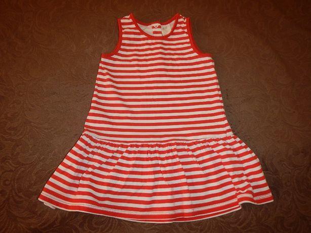 платье H&M р.92см(18-24мес) 100% хлопок