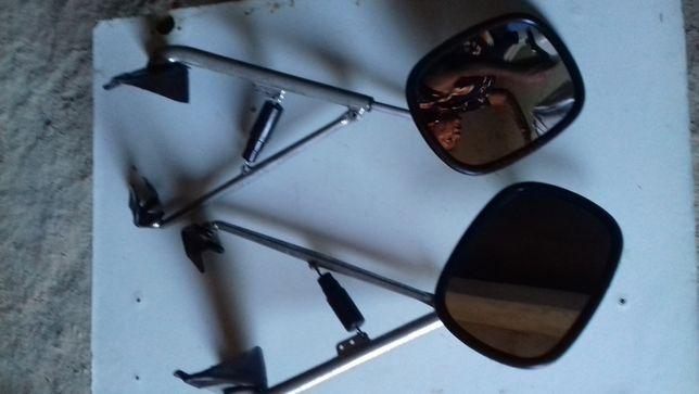 Conjunto de espelhos retrovisores extensível para automóveis