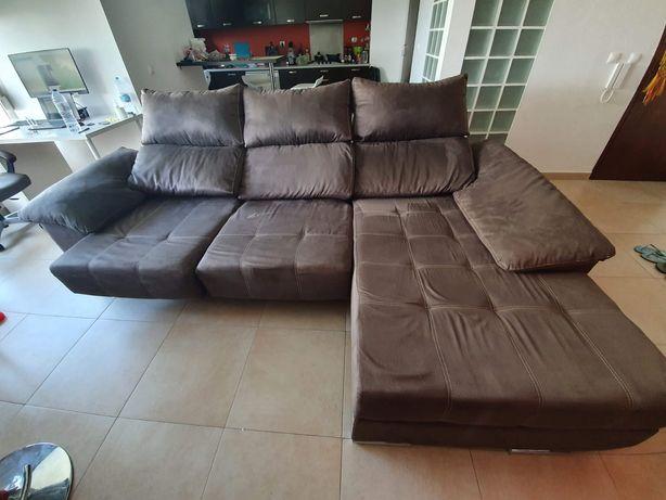Vendo sofá long chaise
