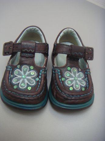 skórzane buty / półbuty / czółenka / trzewiki Clarks nr 21