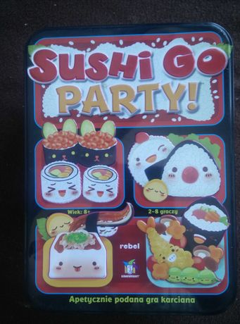 Sushi go party! Gra imprezowa